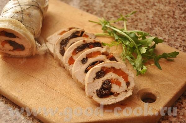 Дип с сыром и крабовым мясом Роллы из семги с творогом и редиской Куриный рулет с черносливом и мор... - 3