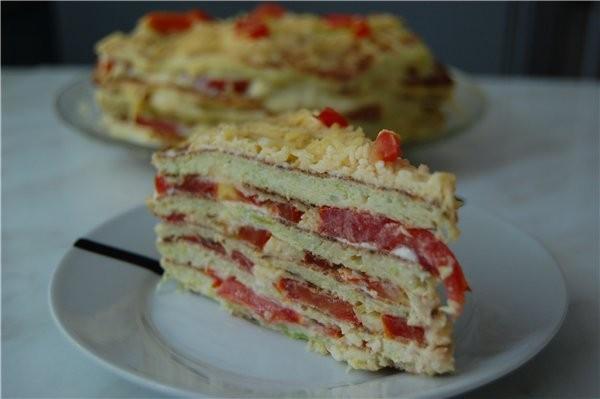 По Наташиному совету решила действительно сделать галерею кабачкового тортика с вашими замечательны... - 4