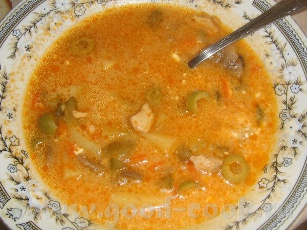 Рыбная суп-солянка делала 10 октября 2008 начинала в мульте
