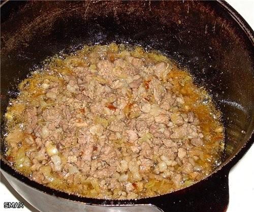 Плов «Фьюжн» Состав: рис «Иберика» 0,5кг; масло растительное 0,15л; бараний жир 0,1-0,07кг; фарш го... - 2
