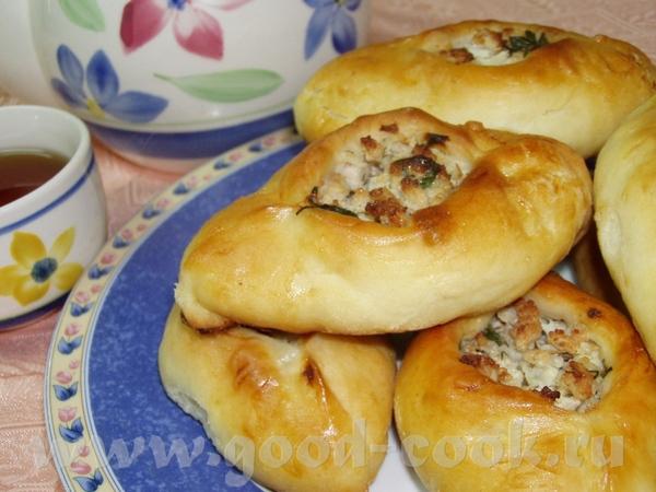 Пирог с ароматной начинкой Расстегайчики с мясом - 2