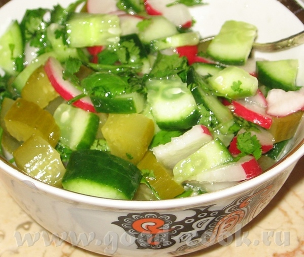 Салат из тунца Оливье - 4