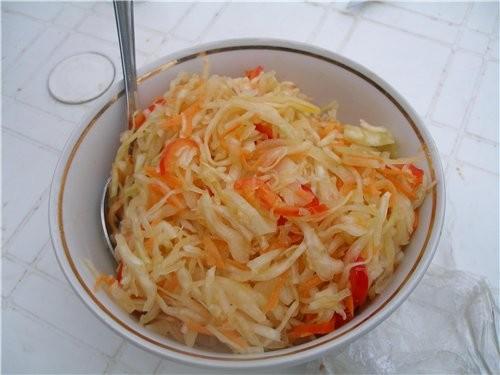 Сибирский салат Вариант автора(Услышан и записан мной с телевизора когда мои дети ходили в садик(т