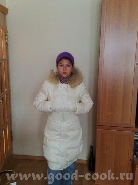 купили вчера спортивное пальто-куртку, правда оно мне немного большое ( место для свитеров оставлен...