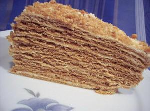 Медовый торт ot Angel