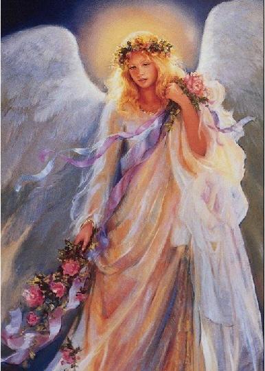 вот вам ангелы: сначала мой любимый: авторов не знаю, но я их для себя сохраняла