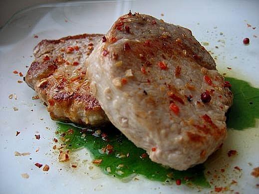 вот мой завтрак такой розарий из форели мясо на обед с салатиком - 2