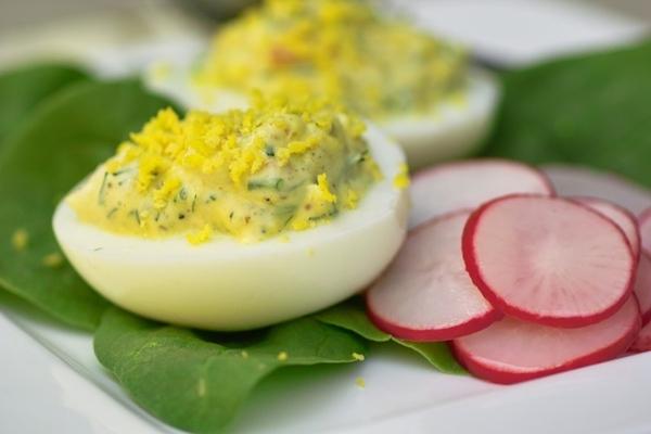 Или вот это простое блюдо может оно поможет кому-то утилизовать пасхальные яйца - 2