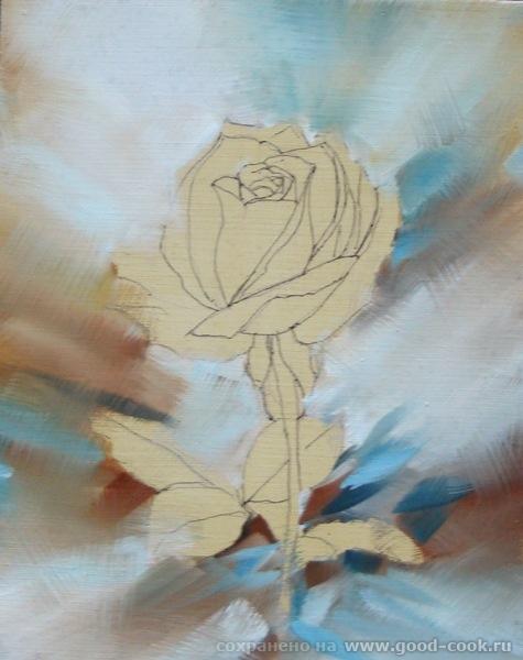 Так,выкладываю фон розы,в ноль как на картинке,конечно же не получилось