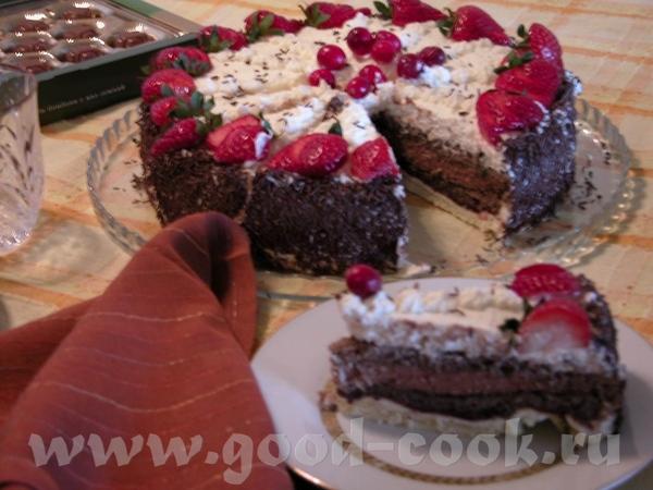 MOZART Шоколадный торт с тремя видами сливочного мусса Сказать, что торт лёгкий в исполнении или по... - 2