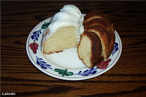 Огромное спасибо Сэнди за творожный кекс