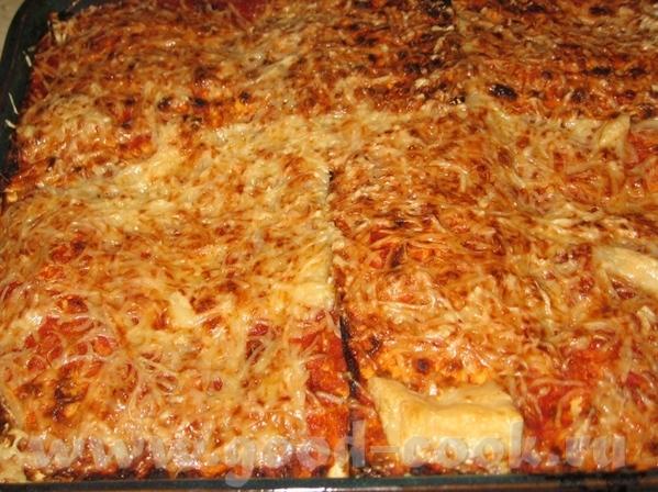 И еще одно блюдо с Песаха: Лазанья из мацы - 2