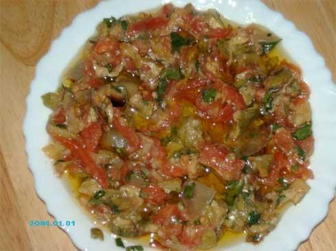 """Сегодня на обед приготовила """"Жаж махши"""" и салат из печеных кабачков - 2"""