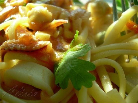 Хочу предложить быстрый и очень вкусный рецепт итальянской кухни - 2