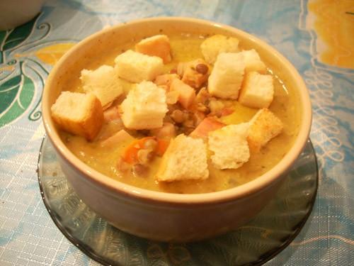 Сенегальский суп из курицы с яблоками и сельдереем Суп-пюре из кольраби Куриный суп-пюре с яблоком... - 5