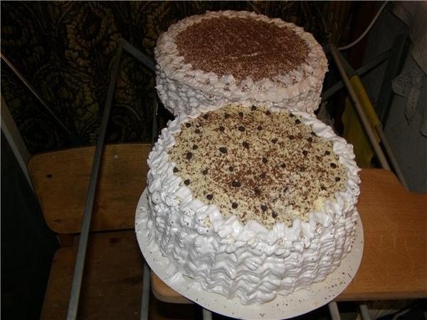 А это мой очередной бисквит и тортик из него: тот, что поменьше размером- это бисквит из мульти, а... - 2