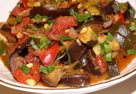 Вот еще очень хороший итальянский рецепт с баклажанами