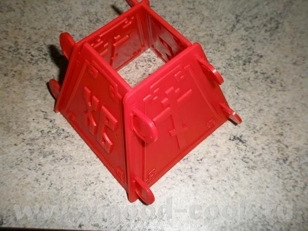 Это наша Пасха Рецепт творожной пасхи переношу сюда 1,5 кг творога на 2 пасхи из такой пасочницы 25... - 2