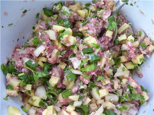 ПЛАЦИНДЫ с мясом и картошкой Тесто готовиться ОЧЕНЬ легко и подходит для ВСЕХ видов начинок - 2