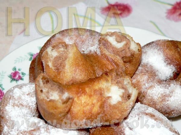 Мраморные пончики 1 ст