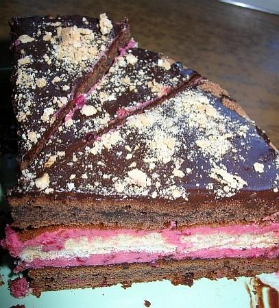 Ну и еще один поклон Ирине Кутовой за торт Улыбка Негра общий вид немного косоватая, надо сказать у... - 2
