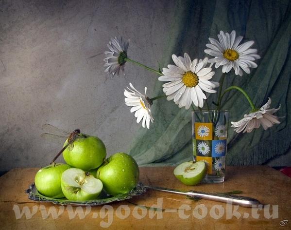 Спасибо, я рада Вот ешё фрукты и цветы Художник Кроповинский Сергей И сдесь много - 2