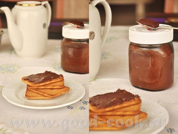 Шоколадно-ореховая паста (по типу нутеллы)