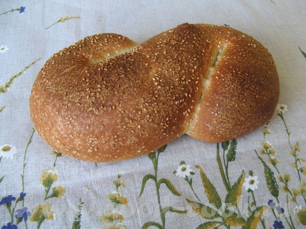 Pane Siciliano Давно я заглядывалась на этот хлеб у Михаила здесь (из книги Питера Райнхарта), но н...