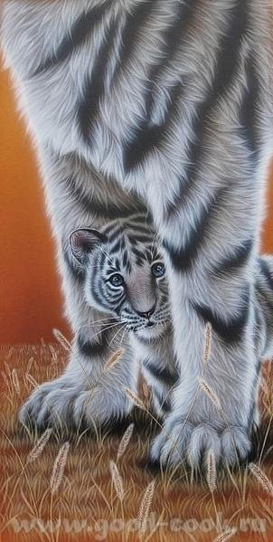 Белый тигр =========== ============================================= Acrylic =========