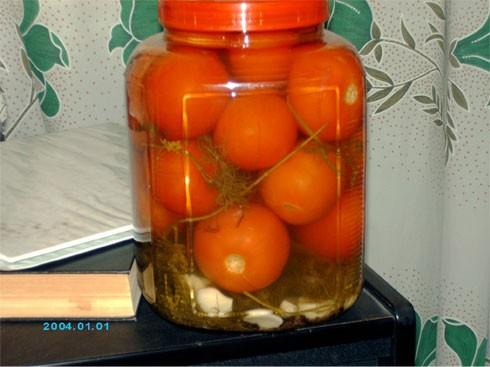 Леночка, большое спасибо за Маринованные помидоры - в который уже раз делаю двойную порцию