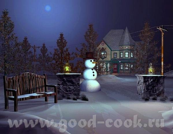 Рождественские картины =================== - 10