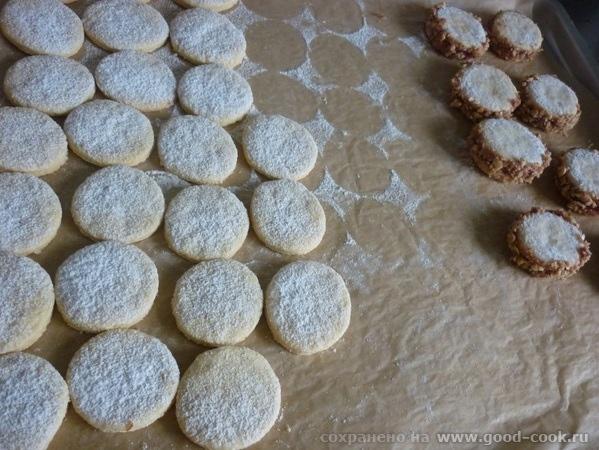 Doppelte plдtzchen - Двойные печенья по мотивам Альфахорес Тесто: 1 с четвертью стакан муки, 3/4 ст крахмала, 0,5 ч - 2