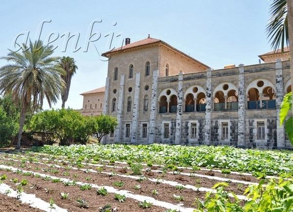 Можно подойти к комплексу монастырских строений, в котором для туристов доступно только посещение ц...