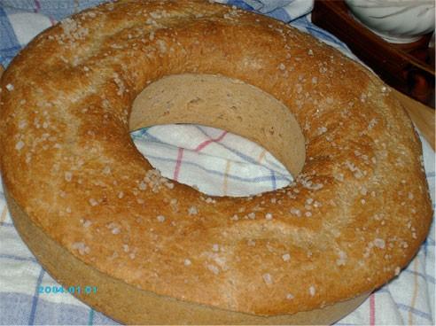 Ксаночка, а я сегодня опять испекла его в виде кекса, стоит на решётке остывает - 2