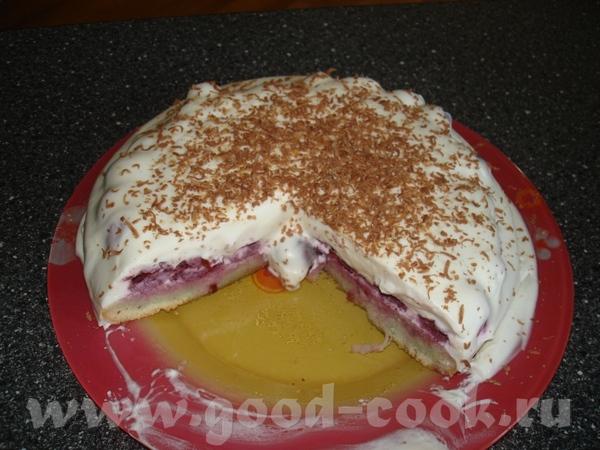 Здравствуйте, вот приготовила вчера тортик в теме рецептов уже есть, угощайтесь