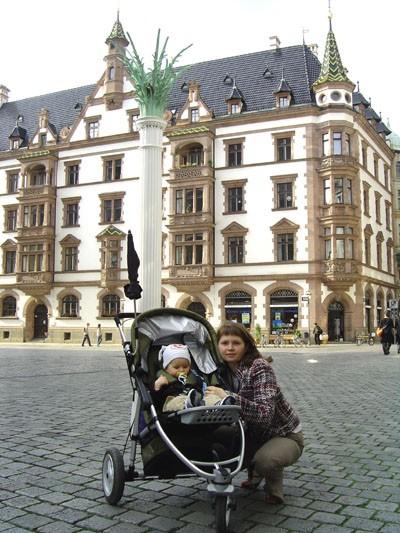 Хочу тоже поделиться парой фоток нашего города Лейпцига (Германия, восточная часть) - 2