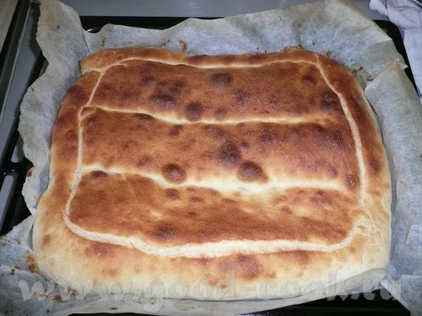 """часто покупаем лаваш, именно толстый, поэтому решила попробовать сделать сама армянский хлеб """"Матна... - 2"""