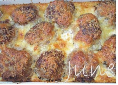 Содержание: Фарш и блюда из фарша (Архив) Фаршированные фрикадельки под соусом от June Макароны под...