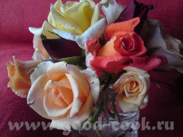 А это - просто для настроения, для вас всех - летние розы