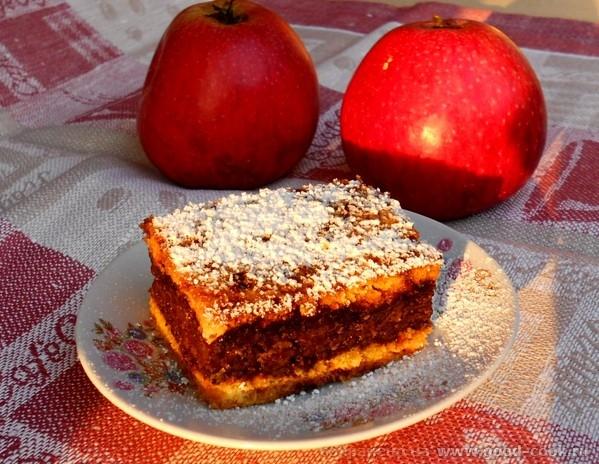 """Яблочные пирожные """"Фигаро"""" Тесто 200 г сливочного масла, 100 г сахара, 1 ч"""