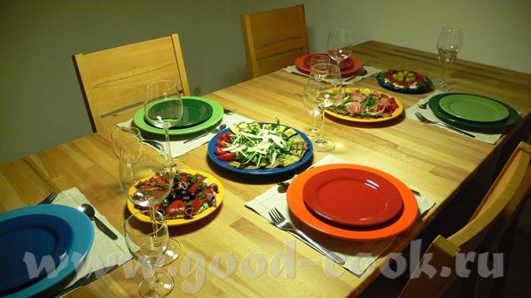 Были у нас недавно гости, и делала я для них ужин в испанском стиле