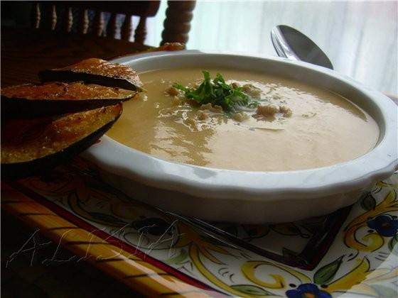 Рецепт етого супа мне дала милая пожилая дама (фермер), когда мы ездили на ферму собирать тыквы
