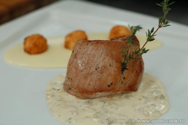 Рецепт второго блюда с кулинарных курсов от Алексея Ульянова