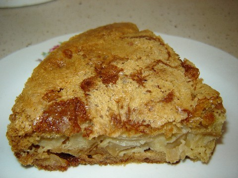 Позавтракала Яблочным пирогом