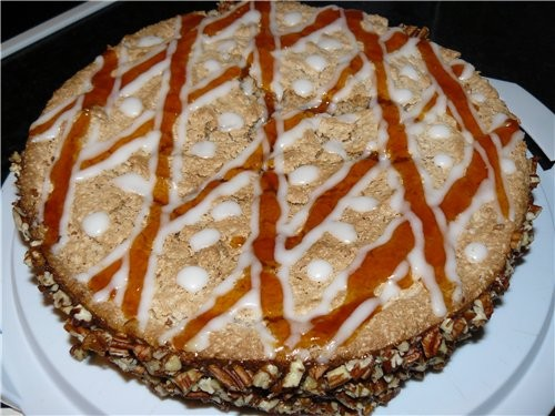 Для любителей ореховых тортов - 3