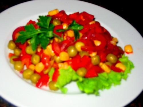 Девчоки у нас сегодня на ужин: салатик Добрый винегретик суп-пюре Томатный