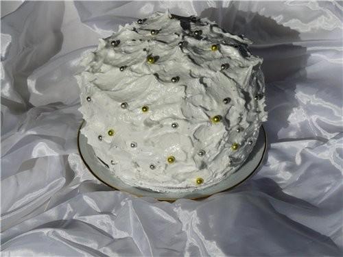 Торт «Белоснежка» - 2
