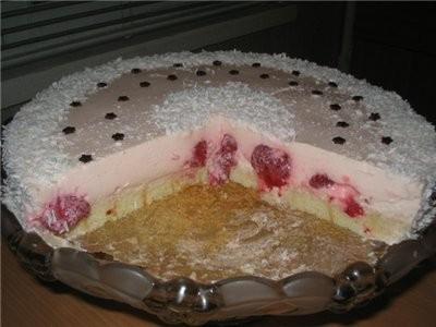 тортик (сметанно-творожный) на мои именнины, лёгкий, нежирный, и вкусный, о4ень люблю етот тортик,... - 2