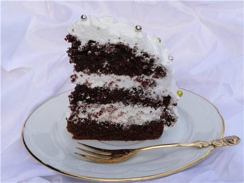 Рецепт этого торта у меня уже очень давно, ещё со школьных времён