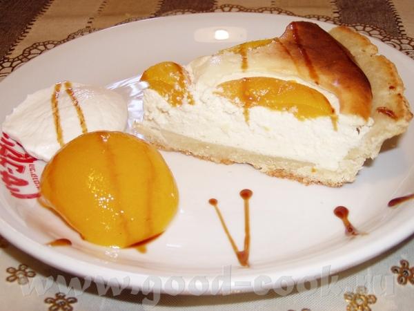 Алисик,спасибо тебе большое за очень вкусный Творожный пирог с консервированными персиками
